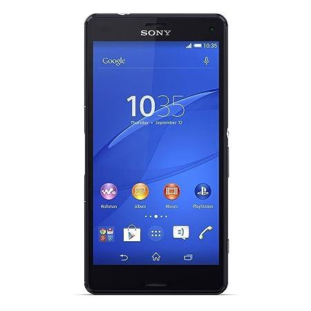 """Sony Xperia Z3Compact Smartphone (11,7cm 4,6""""), écran tactile, Android 4.4mémoire 16Go (Noir)"""