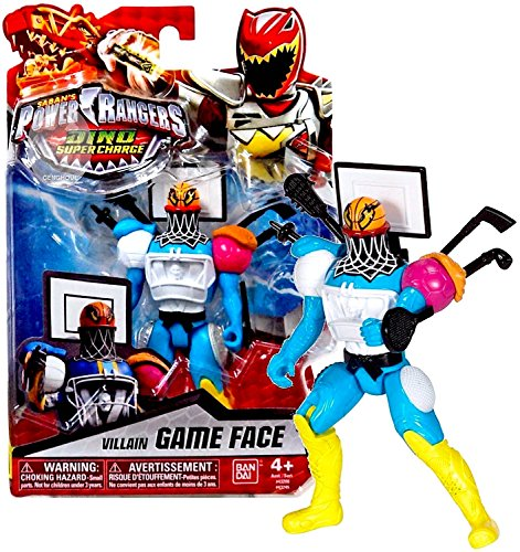 Power Rangers Dino Charge Villain Game Face Action Figure 5