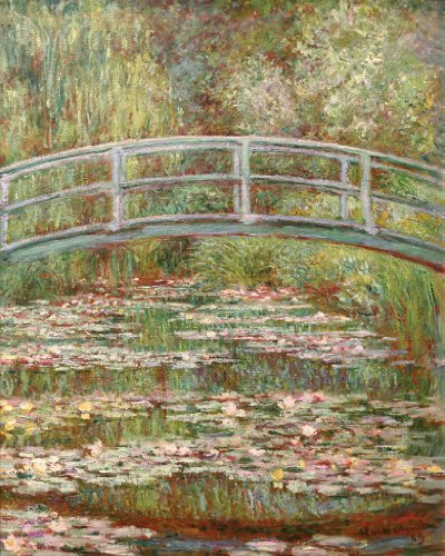 Monet Bridge Wooden Jigsaw Puzzle