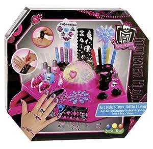 Canal Toys - MHC 002 - Loisir Créatif - Bar à Ongles et Tatoos - Monster High