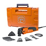 FEIN FMM350QSL MultiMaster QuickStart StarlockPlus Oscillating Multi-Tool with snap-fit accessory change (Color: Orange)
