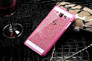 mobbysol™ Hard Back Glitter Back Case Cover For Samsung Galaxy Grand prime(G530) , Pink