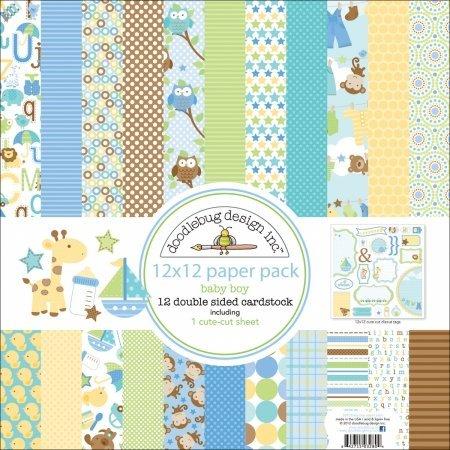 Snips & Snails Paper Pack 12
