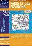 Carte routi�re : Mini Paris et ses en...
