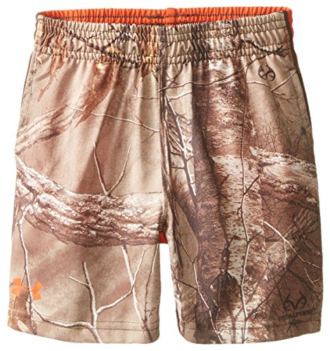 Under Armour Little Boys' Real Tree Zinger Short, Dynamite, 4T