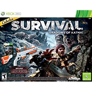 Cabelas Survival: Shadows of Katmai Video Game for Xbox 360