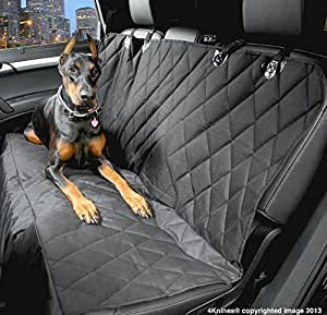 Dog Seat Cover with Nonslip Backing Side
