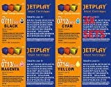 12x Jetplay Compatible Printer Ink Cartridges for Epson Stylus SX515W - Cyan / Magenta / Yellow / Black - Multipack 4 x each colour (4x blk, 4x cyan, 4x magenta, 4x yellow) Jetplay compatible Inks. Maximum Capacity Ink Inside you get 3 sets of high quali
