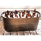 Busch Signature Hammered Copper Finish Beverage Tub