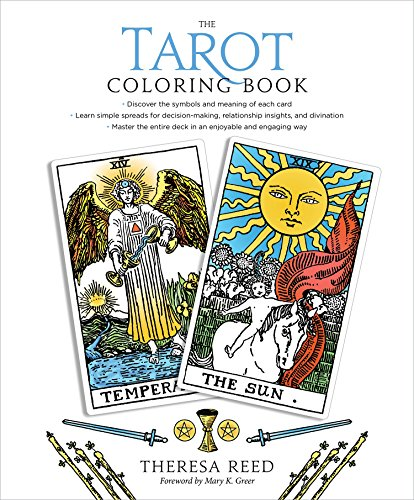 The Tarot Coloring Book [Reed, Theresa] (Tapa Blanda)