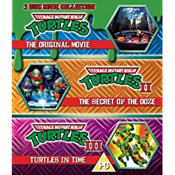 Teenage Mutant Ninja Turtles-The Movie Collection [Blu-ray]