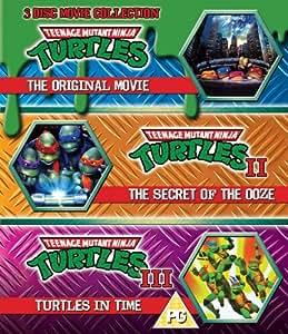 Teenage Mutant Ninja Turtles - The Movie Collection - 3 Disc Set (Teenage Mutant Ninja Turtles/Secret Of The Ooze/Turtles In Time) (Blu-ray)