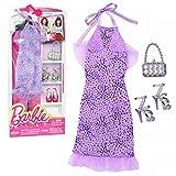 Barbie - Tendencia de la Moda para la Ropa de la Muñeca Barbie - Vestido de Noche Lavanda