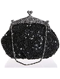 2015 NEW Glitter Evening Bag Ladies Shoulder Purse Elegant Full Party Women Chain Handbags Bling Dress Up Day Clutches