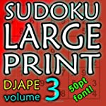 Sudoku Large Print: 150 puzzles in 50...