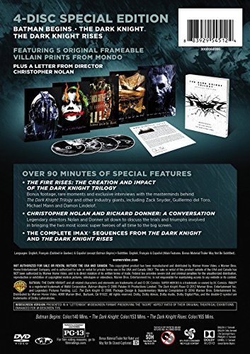 The Dark Knight Trilogy Special Edition (DVD)