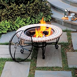 Fire Pit Selection at Tar Cast Iron Copper & Granite