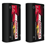 Xbox One Controller Battery Pack, 2500 mAh High Capacity Rechargeable Battery for Xbox One/Xbox One X/Xbox One S/Elite Wireless Controllers (2 Pack) (Color: 2 PCS)