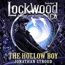 Lockwood & Co: The Hollow Boy (       UNABRIDGED) by Jonathan Stroud Narrated by Emily Bevan