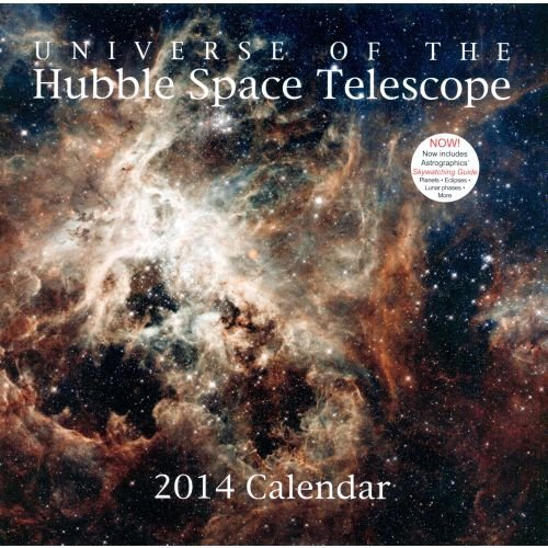 2014 Universe Of The Hubble Space Telescope Wall Calendar (With Premium Gift Bow)