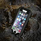 Iselector iPhone 6 4.7 '' Waterproof Case, Water Resistant Shock / Snow / Dirt Proof Sports Armband Best for Sport Running / Hiking / Swimming (Black)