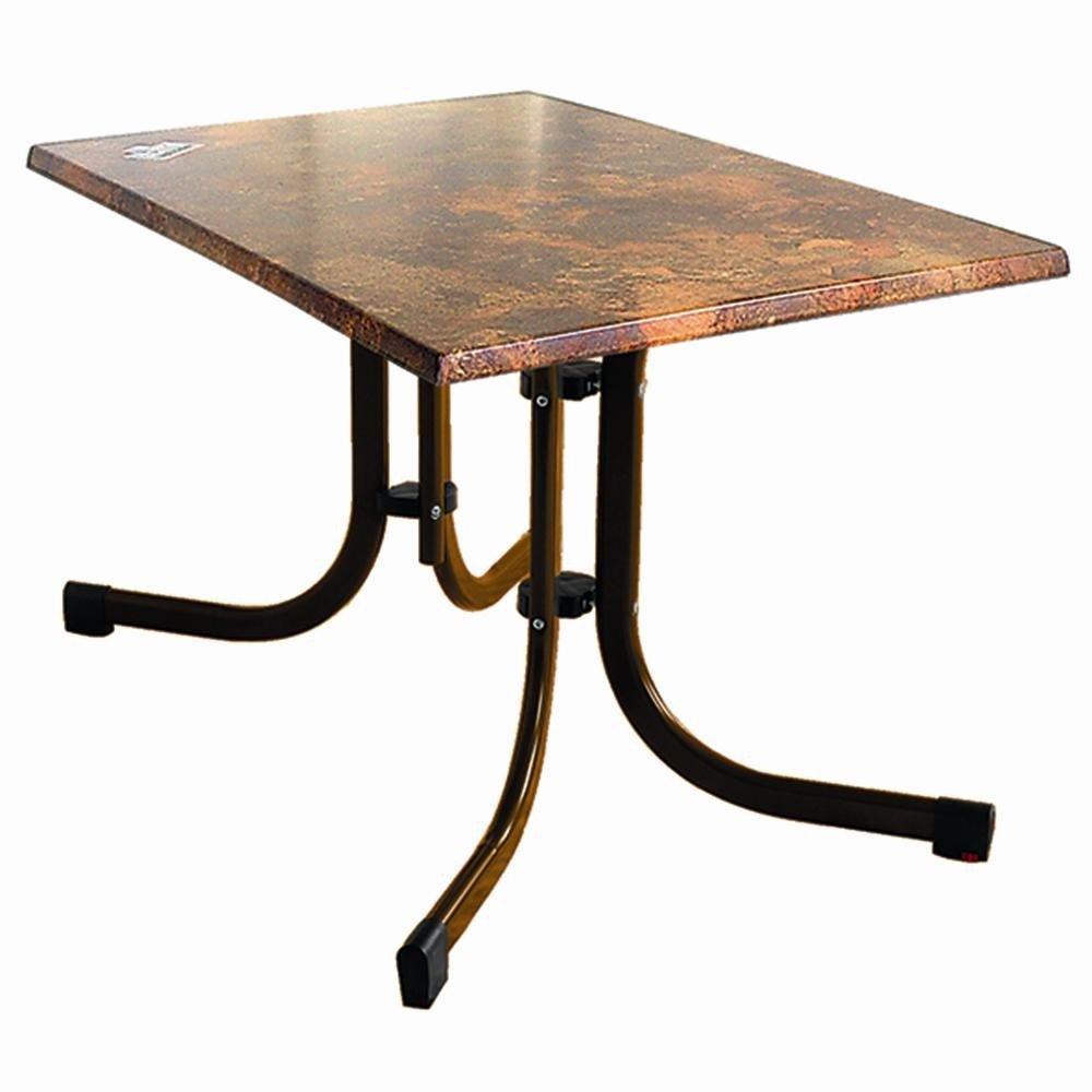 MFG 1913322 Klapp-Tisch Gestell mocca, Platte Vulcano, 120 x 80 cm jetzt bestellen