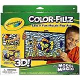 Crayola Model Magic Color Fillz Pop-Art 3-D