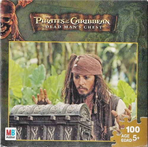 Pirates of the Caribbean - Dead Man's Chest 100 Piece Puzzle