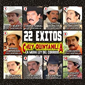 Amazon.com: 22 Exitos: Chuy Quintanilla: MP3 Downloads