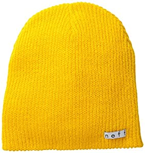 neff Men's Daily Beanie, Goldenrod, One Size