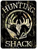 Hunting Shack Custom Parking Sign Metal Sign from Redeye Laserworks