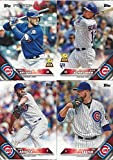 Chicago Cubs 2016 Topps MLB Baseball Regular Issue Complete Mint 26 Card Team Set Featuring Kris Bryant, Kyle Schwarber Rookie Plus