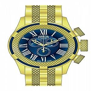 Invicta Men's 17164 Bolt Quartz Chronograph Blue Dial Watch