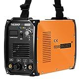 VIVOHOME 2 in 1 Portable TIG STICK/MMA Welding Machine Dual Voltage 110/220V TIG 200CP (Color: TIG 200CP)