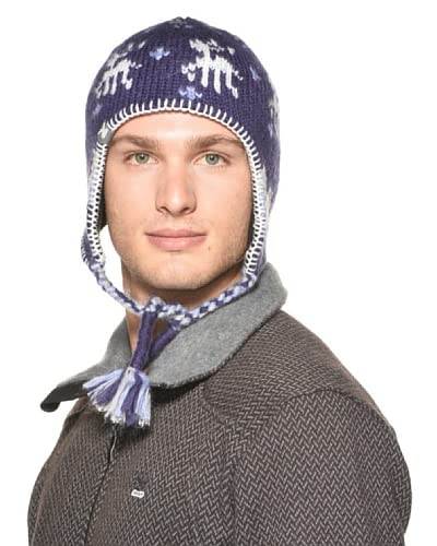 Salewa Mütze mit Ohrenwärmern My Deer Kn Earflap blau