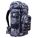 LAIDAYE Quality Outdoor Mountaineering Bag Camouflage Large Capacity Backpack 50L Upgrade,CamouflageG-OneSize (Color: CamouflageG, Tamaño: One Size)