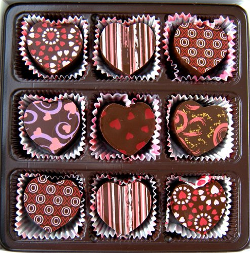 Heart Shaped Truffle Assortment