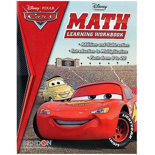 Disney Pixar Cars Math Learning Workbook - 1