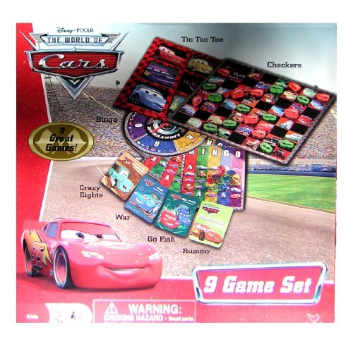 Disney Pixar Cars 9 Game Set - 1