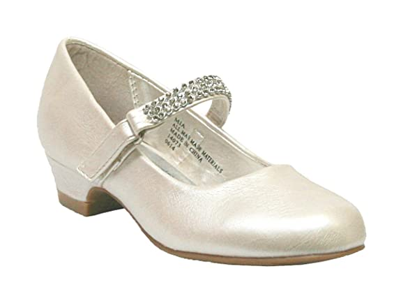 Girls-Low-Heel-Girls-Dress-Shoe-with-Rhinestone-Strap