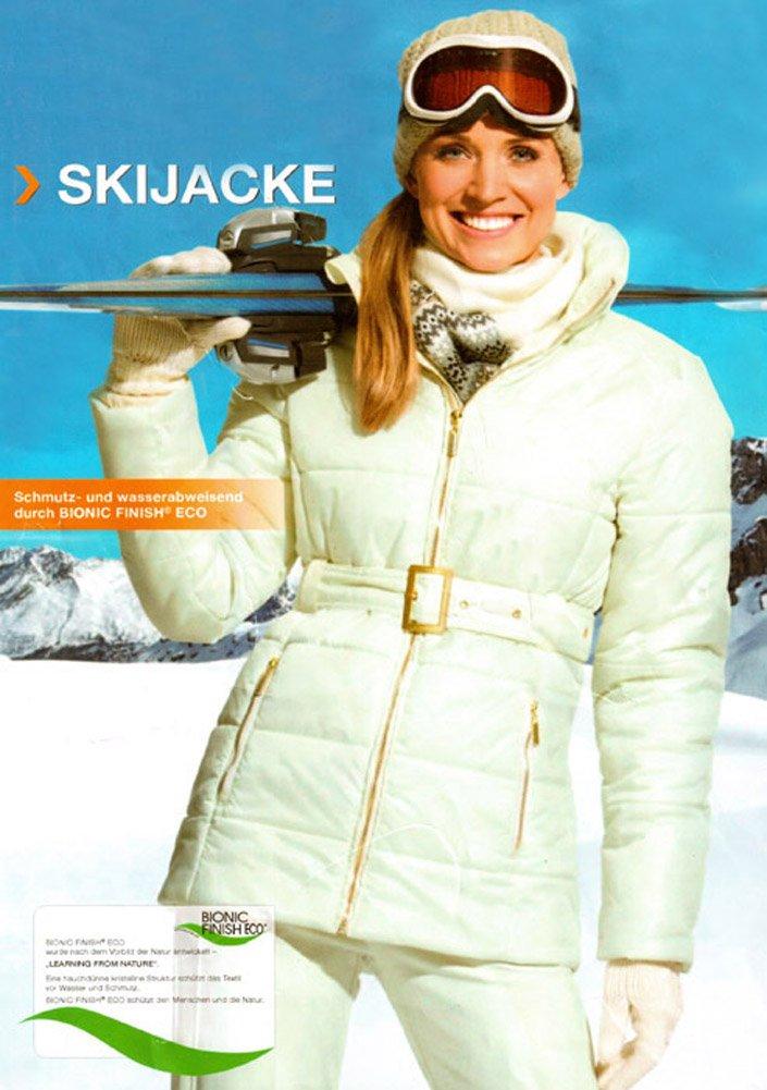 Damen Skijacke Gr. 38 Farbe: Beige Schneejacke Winterjacke günstig bestellen