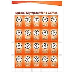 US 4986 Special Olympics World Games Forever Stamps Sheet of 20 By USPS