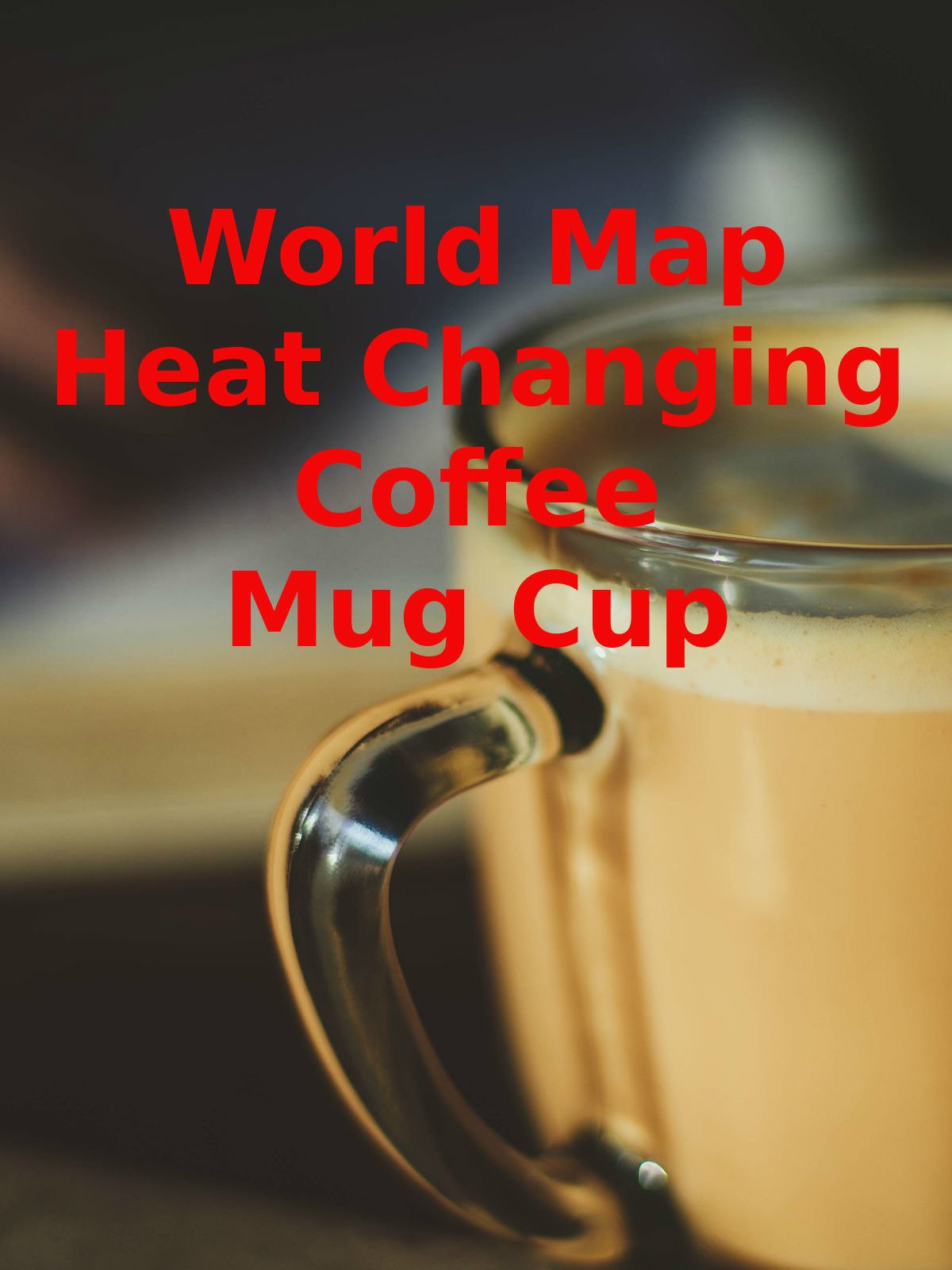 Review: World Map Heat Changing Coffee Mug Cup