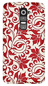 TrilMil Printed Designer Mobile Case Back Cover For LG G2