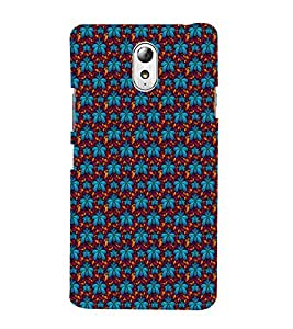 ifasho Designer Phone Back Case Cover Lenovo Vibe P1M :: Vibe P1m ( Green Yellow Pattern Design )