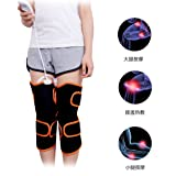 Knee Heating Pads Magnet therapy with Infrared Moxa Hot Compress 9 Modes Massage Knee Wrap Brace Timing Thermotherapy for Sore Muscles Hot Warm Therapy Joint Pain Relief