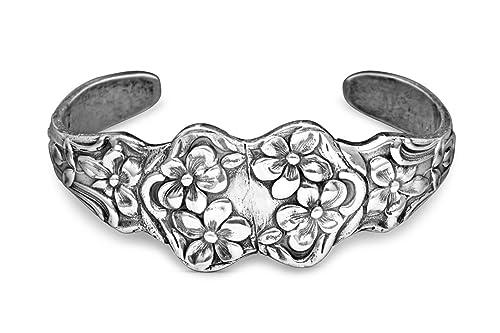 Silver Spoon Cuff Bracelet | Women