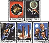 Fujeira 470A-474A (complete.issue.) fine used / cancelled 1970 Apollo 13 and Apollo 14 (Stamps for collectors)