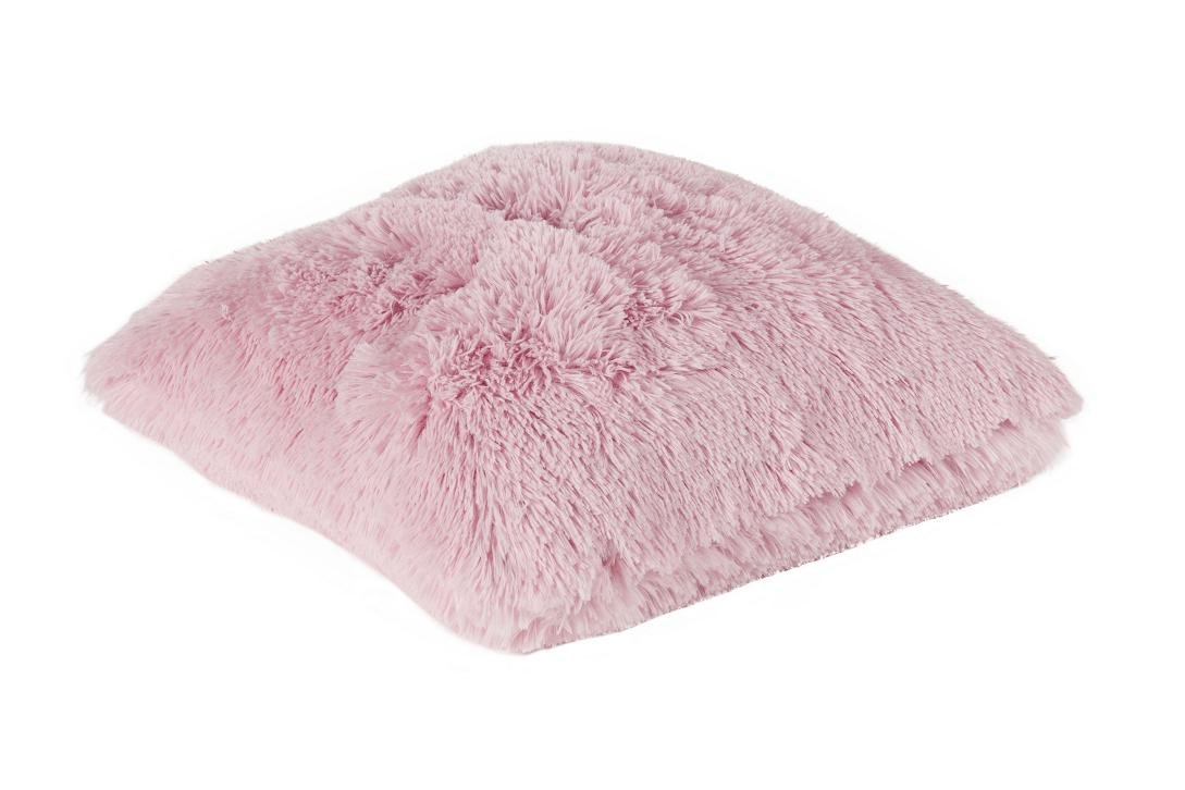 """Indoor Zottel KISSEN """"Bodrum – light Pink"""" Kopfkissen Sofakissen Dekokissen Flausch 45cmx45cm inkl. Füllung jetzt kaufen"""