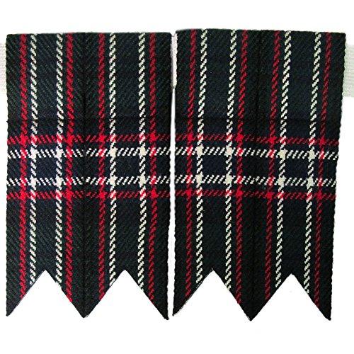 Tartanista -  Calze Trachten  - uomo Scottish National Taglia unica